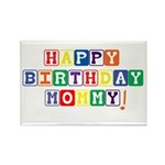 Happy Birthday Mommy.psd Rectangle Magnet (10 pack