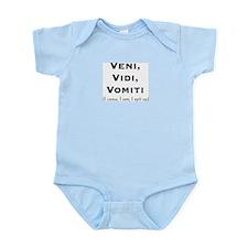 Veni, Vidi Vomiti  Infant Creeper