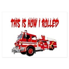 Retired Firefighter- How I Rolled Invitations