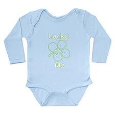 Lucky Me Long Sleeve Infant Bodysuit