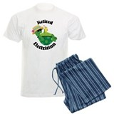 Retired Electrician Gift Pajamas
