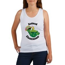 Retired Electrician Gift Women's Tank Top