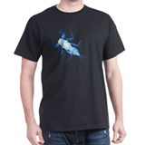 &lt;i&gt;Drunella&lt;/i&gt; Mayfly Nymph Black T-Shirt
