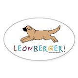 Oval Leonberger Decal