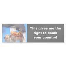September 11 Bumper Bumper Sticker