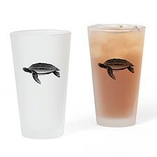 Leatherback Sea Turtle Drinking Glass