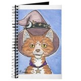 Celestial Witch Cat Journal