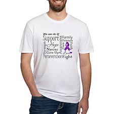 Pancreatic Cancer Words Shirt