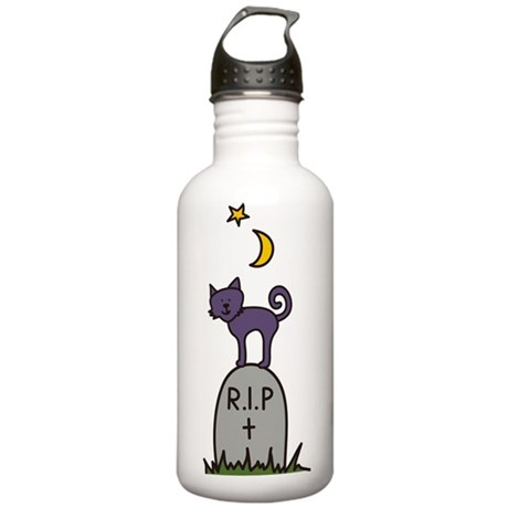 Tombstone Cat Stainless Water Bottle 1.0L