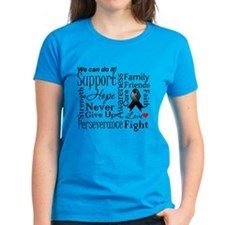 Melanoma Words Tee