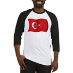 Wavy Turkey Flag Baseball Jersey