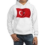 Wavy Turkey Flag Hooded Sweatshirt