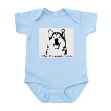 The Malamute Smile Infant Bodysuit