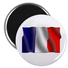 "French flag 2.25"" Magnet (10 pack)"