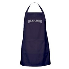 Real Men Dont Need Instructions Apron (dark)