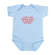 mornings Infant Bodysuit
