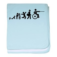 Wheelchair Fencing baby blanket
