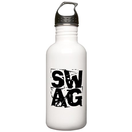 distressed SWAG Stainless Water Bottle 1.0L