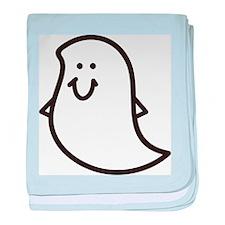 Ghost baby blanket