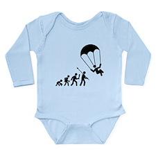 Parachuting Long Sleeve Infant Bodysuit