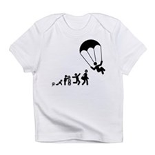 Parachuting Infant T-Shirt