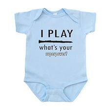 Cool Clarinet Designs Infant Bodysuit
