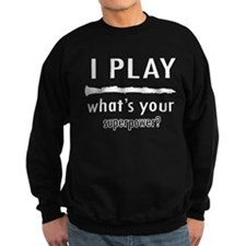 Cool Clarinet Designs Sweatshirt