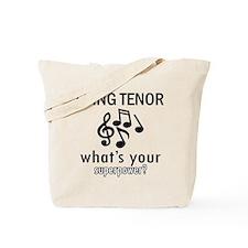Cool Tenor Designs Tote Bag