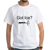 ice fishing walleye slayer T-Shirt