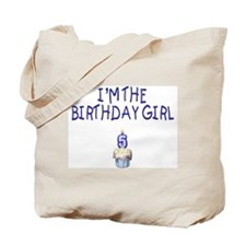 Birthday Girl 5 Tote Bag
