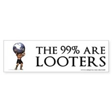 Atlas 99% Looters, Bumper Sticker