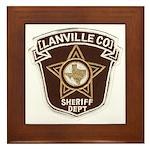 Lanville County Sheriff Framed Tile