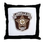 Lanville County Sheriff Throw Pillow