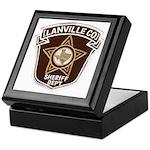 Lanville County Sheriff Keepsake Box