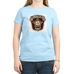 Lanville County Sheriff Women's Pink T-Shirt