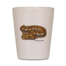 Gaboon Viper Shot Glass