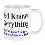 Dad Knows Everything Small Mug