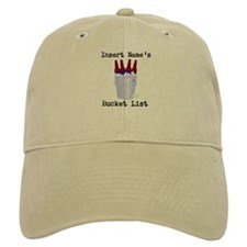 Insert Name Personalize Beer Bucket List Baseball Cap