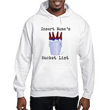 Insert Name Personalize Beer Bucket List Hoodie