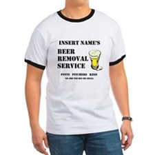 Insert Name Personalize Beer Removal Service Ringe