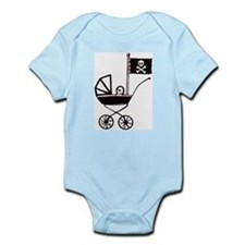 Pirate Baby Body Suit