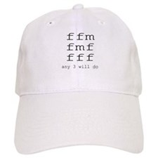 ffm any 3 will do Baseball Cap