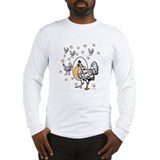 Chicken roseanne Long Sleeve T-shirts