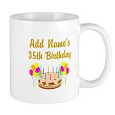 HAPPY 35TH BIRTHDAY Mug