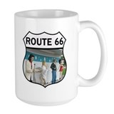 Route 66 - Polk-a-Dot Drive In Ceramic Mugs
