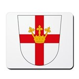 Koblenz Coat of Arms Mousepad
