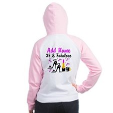 HAPPY 35TH BIRTHDAY Women's Raglan Hoodie