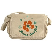 Ring of Flowers Messenger Bag
