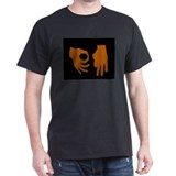Orange Mound Black T-Shirt