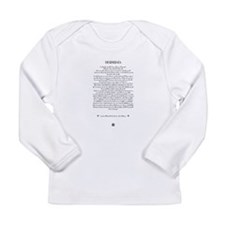 The DESIDERATA Poem by Max Ehrmann. Long Sleeve In